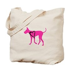 Cute Great dane Tote Bag