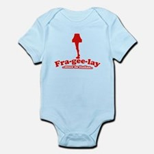 retro xmas Infant Bodysuit