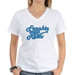 Frankie says relax Women's V-Neck T-Shirt