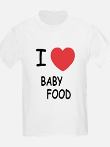 I heart baby food T-Shirt