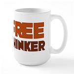 Freethinker Large Mug