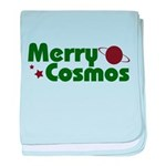 Merry Cosmos baby blanket