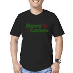 Merry Cosmos Men's Fitted T-Shirt (dark)