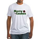 Merry Cosmos Fitted T-Shirt