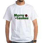 Merry Cosmos White T-Shirt