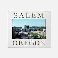 Unique Eugene oregon Throw Blanket