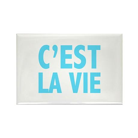C'est La Vie Rectangle Magnet (10 pack)