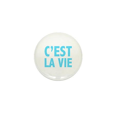 C'est La Vie Mini Button (10 pack)