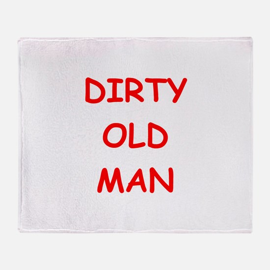 Old farts jokes Throw Blanket