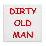 Old farts jokes Tile Coaster