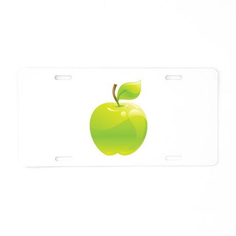 Apple Aluminum License Plate