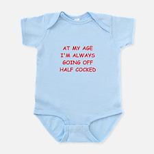 Old farts jokes Infant Bodysuit