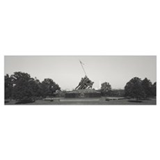 Virginia, Arlington Cemetery, Iwo Jima Memorial Framed Print
