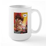 Zowie Face (Indie Comics Magazine) Large Mug