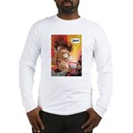 Zowie Face (Indie Comics Magazine) Long Sleeve T-S