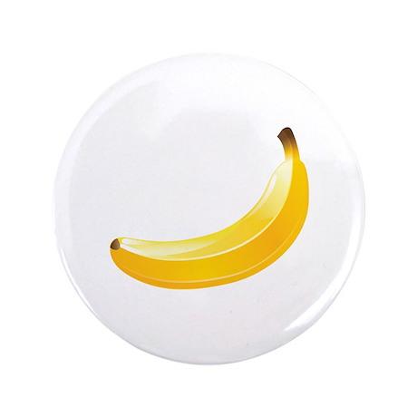"Banana 3.5"" Button (100 pack)"
