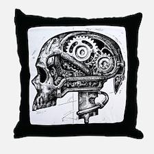 Unique Skull Throw Pillow