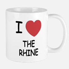 I heart the rhine Mug