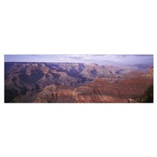 View to NE fromYavapai Pt Afternoon Grand Canyon N Poster