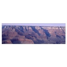 View to N fromYaki Pt Afternoon Grand Canyon Nat'l Poster