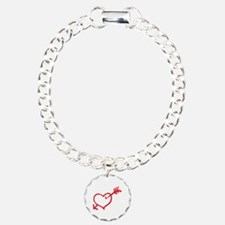 Heart Arrow Bracelet