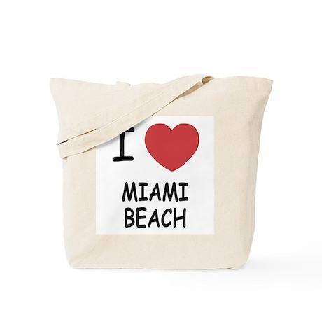 I heart miami beach Tote Bag