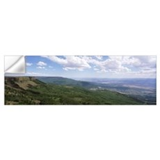 Looking South from Lands end Grand Mesa National F Wall Decal