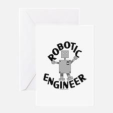 Robotic Engineer Greeting Card