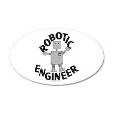 Robotic Engineer Wall Decal