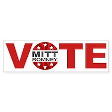 Vote Mitt Romney Bumper Sticker