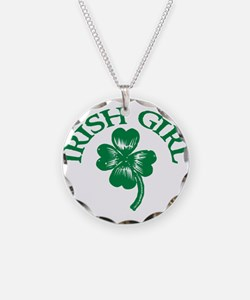 IRISH GIRL SHIRT ST. PATRICKS Necklace