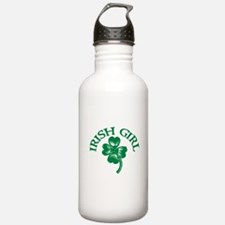 IRISH GIRL SHIRT ST. PATRICKS Water Bottle