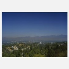 High angle view of trees, San Fernando Valley, Cit