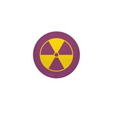 Standard Radiation Symbol Mini Button (10 pack)