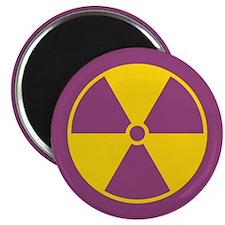 Standard Radiation Symbol Magnet