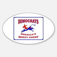 SOCIALISTS Sticker (Oval)