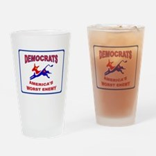 SOCIALISTS Drinking Glass