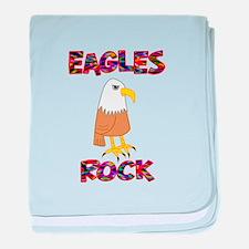 Eagles Rock baby blanket