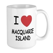 I heart macquarie island Mug