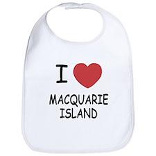 I heart macquarie island Bib