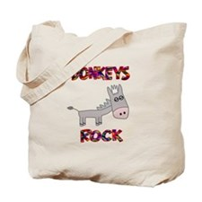 Donkeys Rock Tote Bag