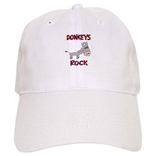Donkeys Rock Baseball Cap