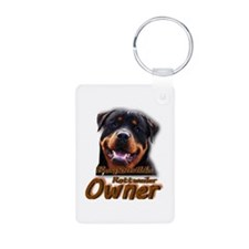 Responsible Rott Owner Keychains