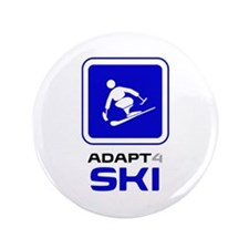 "Adaptive Alpine Skiing 3.5"" Button (100 pack)"