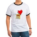 Valentine Heart and Love Not Ringer T