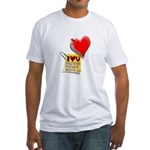 Valentine Heart and Love Not Fitted T-Shirt