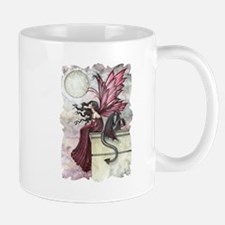Fairy and Dragon Fantasy Art by Molly Harrison Mug