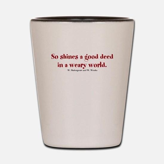 Funny Shine Shot Glass