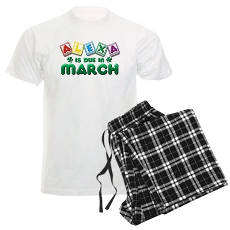 Alexa is Due in March Men's Light Pajamas