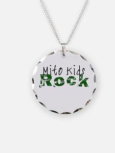 Mito Kids Rock Necklace Circle Charm